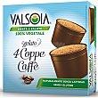 Helado de café sin gluten sin lactosa Pack 4 unidades de 70 g Valsoia