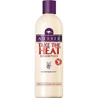 Aussie Champú Take The Heat con aceite de semilla de jojoba australiano para cabello normal Frasco 300 ml
