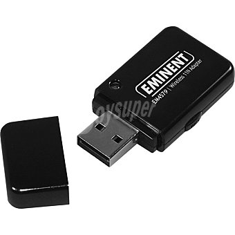 EWENT Adaptador USB de red inalámbrico 300N 1 Unidad