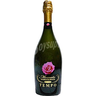 Tempo Vino blanco espumoso moscato de Italia botella 75 cl 75 cl