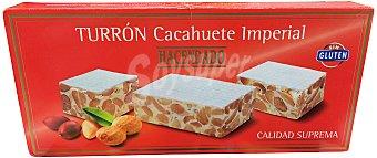 Hacendado Turron duro cacahuete imperial *navidad* Pastilla 150 g