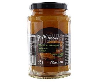 Mmm Auchan Confitura de melocotón y mango auchan Mmm! 315g