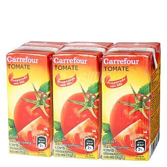 Carrefour Zumo de tomate Pack 3x20 cl