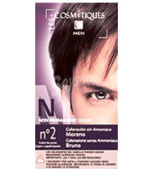 Les Cosmetiques Tinte semipermanente caballero nº2 moreno 1 ud