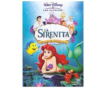 ANIMACIÓN Película en Dvd La Sirenita, Clásicos Disney. Género: infantil, familiar, animación. Edad: TP