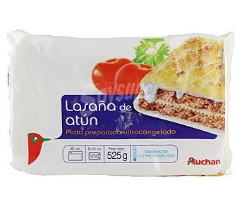 Auchan Lasaña de atún 525 gr