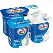 Yogur natural Pack 4x125 g Clesa