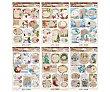 Pack de 10 etiquetas para marcar regalos de navidad, goodmark. Pack de 10 Goodmark