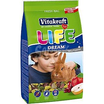 Vitakraft Alimento completo para conejos con frutas Life Dream Bolsa 800 g