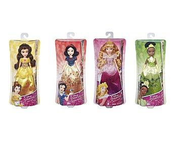 Disney Surtido de muñecas Princesas Disney, Blanca, Aurora, Tiana o Bella 1 unidad