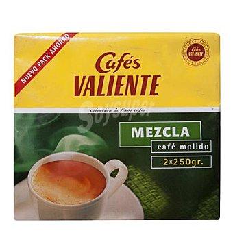 Cafés Valiente Café molido mezcla Pack de 2 unidades de 250 g