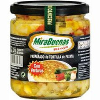 MIRABUENAS Preparado de patata con verdura Tarro 340 g
