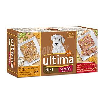 Ultima Affinity Comida para perro tarrina última 4 x 150 gr