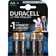 Ultra Power pila alcalina AA (lr6/mx1500) blister 4 unidades Blister 4 unidades Duracell