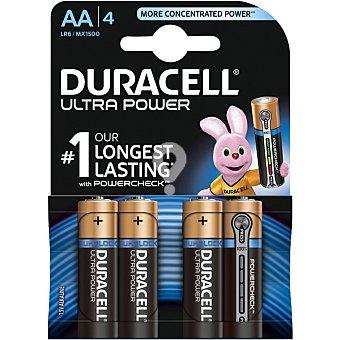 Ultra Power pila alcalina AA (lr6/mx1500) blister 4 unidades