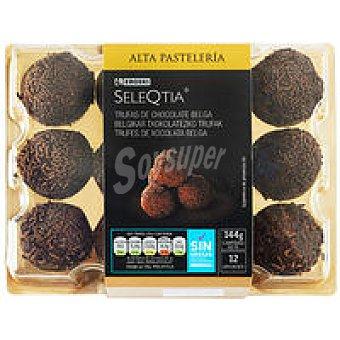 Trufas de chocolate Bandeja 12 unid