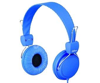 QILIVE TM938 Auriculares Cerrado Azul, tipo cable