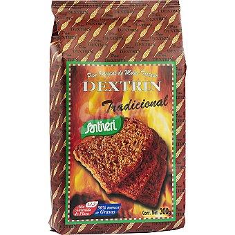 Santiveri Dextrin Tradicional pan integral de molde tostado con soja Paquete 300 g
