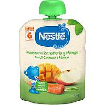 Naturnés Nestlé Bolsita de manzana-zanahoria-mango 90 g
