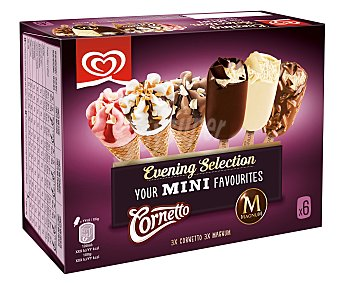 Magnum Mini surtido de helados evening selection 6 unidades