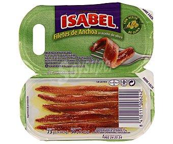 Isabel Filetes de anchoa en aceite de oliva 50 g