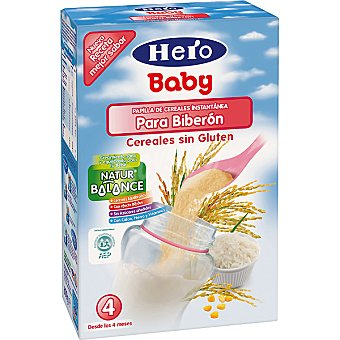 Hero Baby Papilla de cereales sin gluten Natur Balance