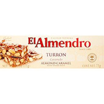 El Almendro Turrón de caramelo Caja 75 g