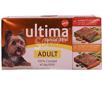 Ultima Affinity Comida para perro Pack 4x150 gr