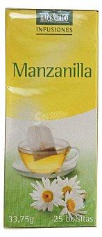 Hacendado Infusion manzanilla 25 bolsitas - 33.7 g