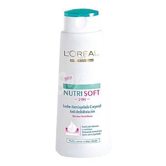 L'Oréal Leche Corporal para piel normal y seca nutrisoft Bote de 400 ml