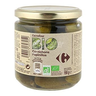 Carrefour Bio Pepinillos 190 g