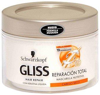 Gliss Mascarilla nutritiva cabello seco Tarro 200 ml