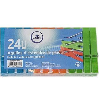 Condis Pinzas plastico 24 UNI