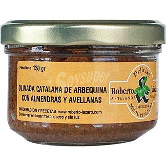 ROBERTO LAZARO Olivada catalana de arbequina con almendras y avellanas tarro 130 g tarro 130 g