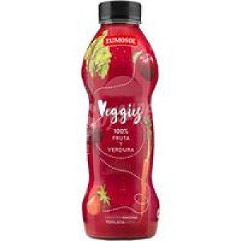 Zumosol Veggies zumo natural 100% de zanahoria, manzana, remolacha y fresa botella 750 ml botella 750 ml