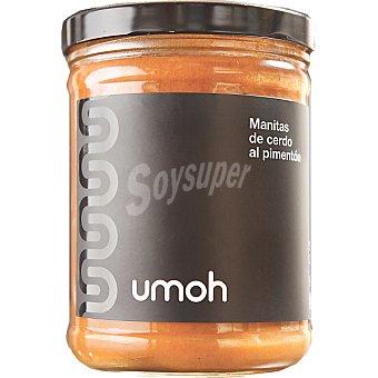 Umoh Manitas de cerdo al pimentón frasco 840 g