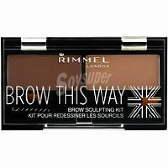 Rimmel London Kit escultor cejas powder 002 1 unidad