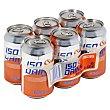 Bebida isotonica naranja Lata pack 6 x 330 ml - 1980 ml Hacendado