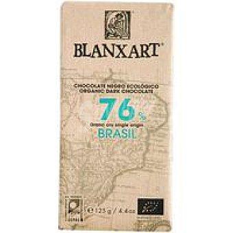 BLANXART Chocolate negro 76% brasil ecológico 1 u