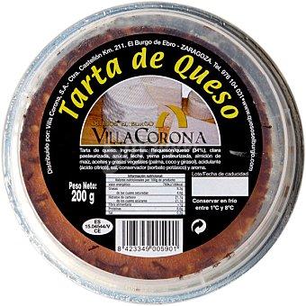 VILLACORONA Tarta de queso natural Envase 200 g