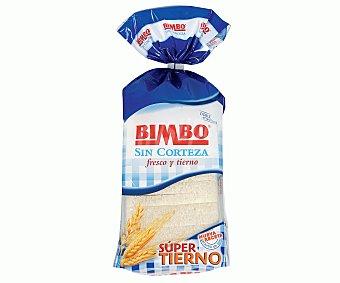 Bimbo Pan de molde sin corteza Paquete 450 gramos