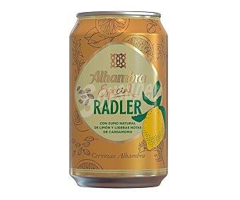 Alhambra Cerveza radler Lata 33 cl