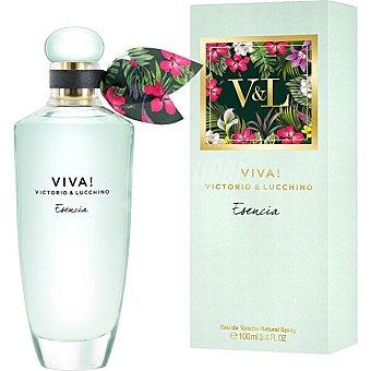 Victorio & Luccino Viva Esencia eau de toilette natural femenina spray 100 ml Spray 100 ml