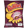 Patatas fritas onduladas jamón Bolsa 31 gr Ruffles