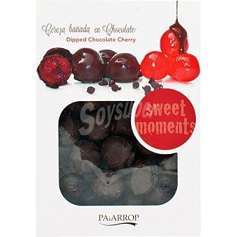 PAIARROP Cereza bañada en chocolate Bandeja 200 g