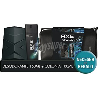 Axe Estuche de colonia 100 ml. + Desodorante de 150 ml. Apollo 1 ud