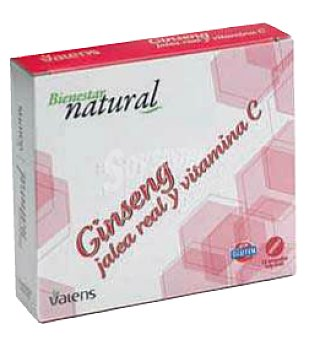 Deliplus Ampollas ginseng/jalea real/vitamina C Caja 12 u