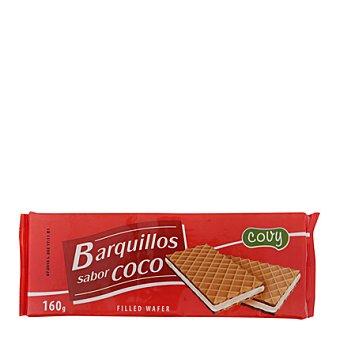 Covy Barquillos sabor coco 160 g