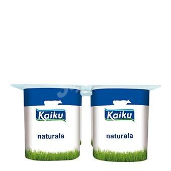 Kaiku Yogur natural Pack de 4x125 g