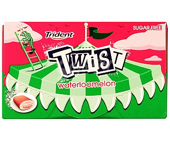 Trident Chicle sabor sandía 20 Gramos